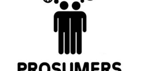 De volwassen klant is een prosumer