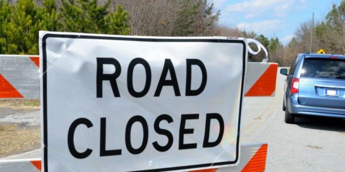 road-closed-sign